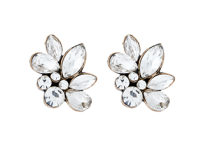 sophia cluster stud earrings