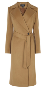camel wool coat km
