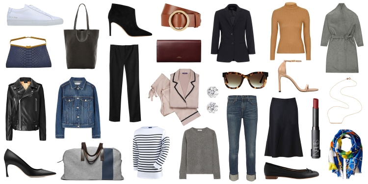 wardrobe essentials elle