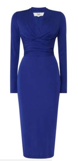 Issa blue pencil dress