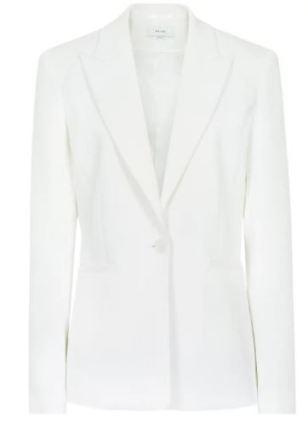 reiss off white blazer