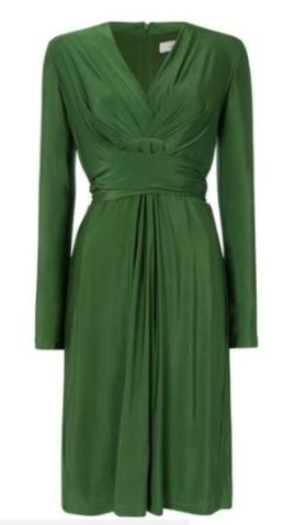 soft green issa block colour dress