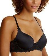 a-c black tshirt bra
