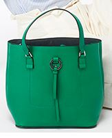 emerald bucket bag accessorize