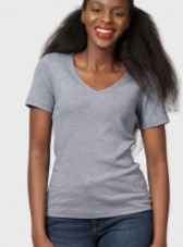 relaxed vneck T