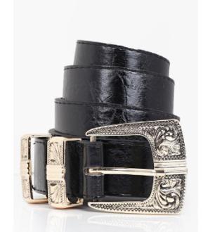 boohoo western buckle belt