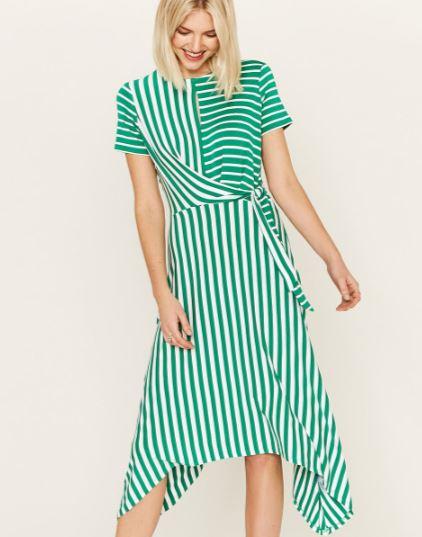 oasis green stripe