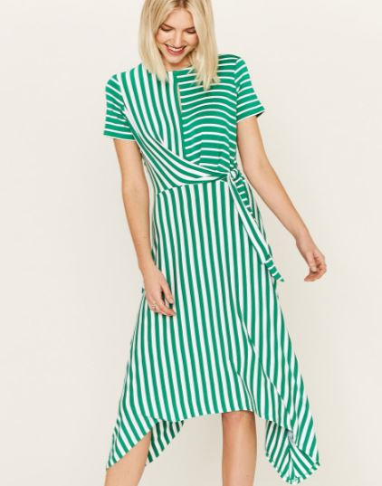 oasis green stripe