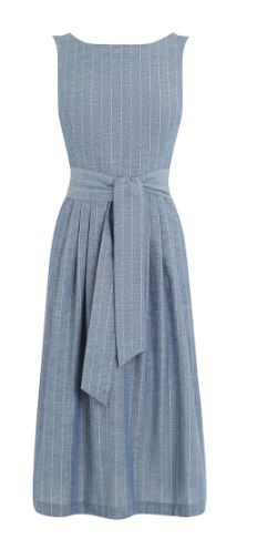 OASIS PIN STRIPE MII DRESS