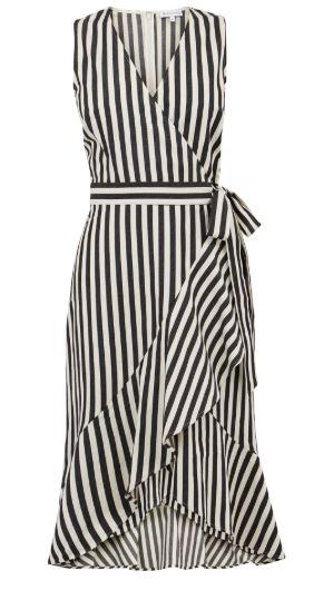 stripe dress warehouse