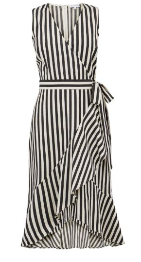 stripe dress warehouse