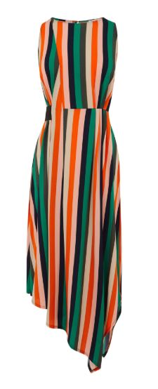 warehouse stripe dress