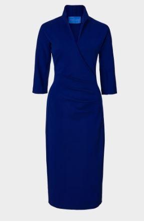 winser blue dress