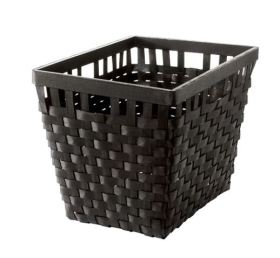 Black basket ikea