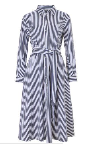 baukjen stripe dress