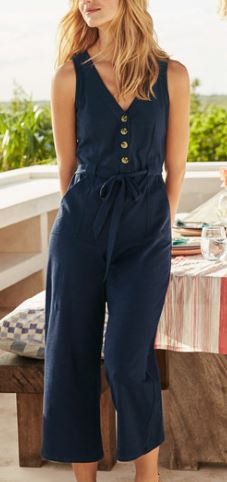 boden v neck jumpsuit
