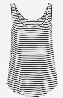 pieces stripe vest